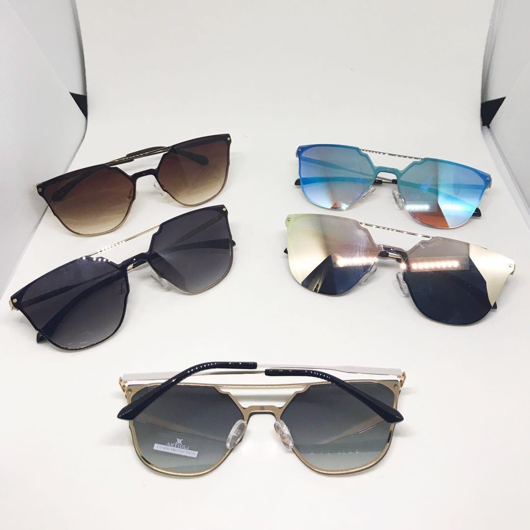 a7b68880f9b1a Óculos De Sol A Feminino Espelhada 10 Peça Atacado - R  280,00 em ...