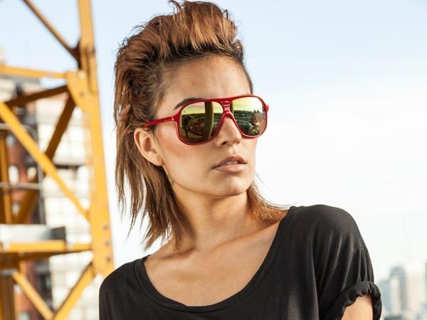 Óculos De Sol Absurda Liberdade Troca Lente Unissex Vermelho - R  69 ... d2812dad45