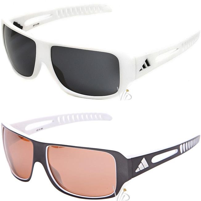 e92d4deb2 Óculos De Sol adidas Masculino Branco Cinza Novo Original - R$ 879 ...