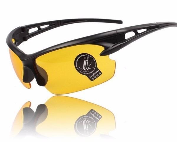 Óculos De Sol Amarelo Para Uso Noturno E Esportes - R  59,90 em ... 673d01c12b