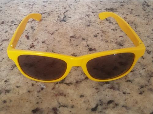 óculos de sol amarelo unissex