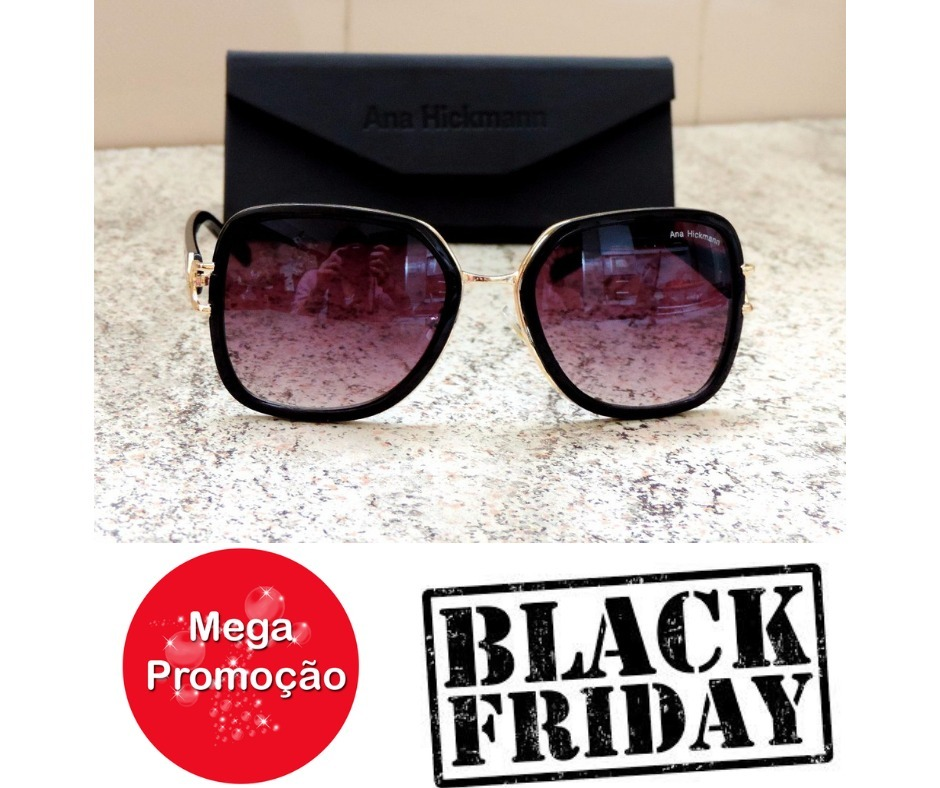 oculos de sol ana hickman original feminino mega promoção. Carregando zoom. 8cea988b43