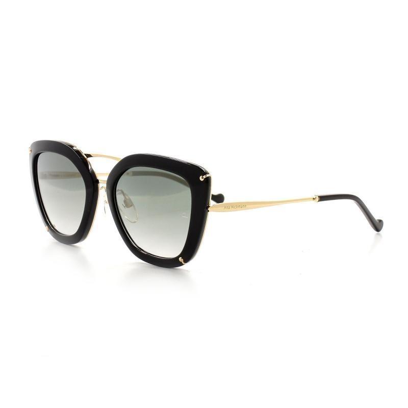 338a04e949350 óculos de sol ana hickmann 3174 t 54 c a01 clássico preto. Carregando zoom.