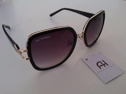 0b290e0d28497 Oculos De Sol Ana Hickmann Feminino Preto Marron Degradê - R  68,80 ...