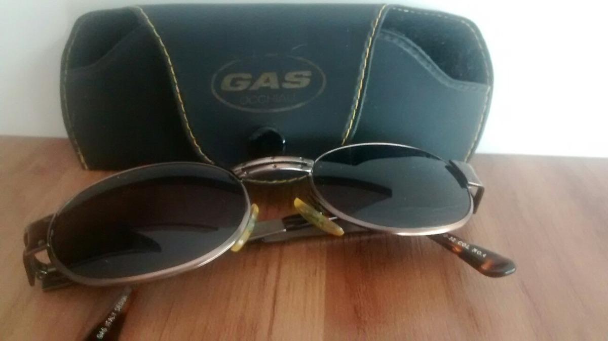 Óculos De Sol Antigo Vintage Marca Gas Made In Italy - R  199,00 em ... 72b657c138
