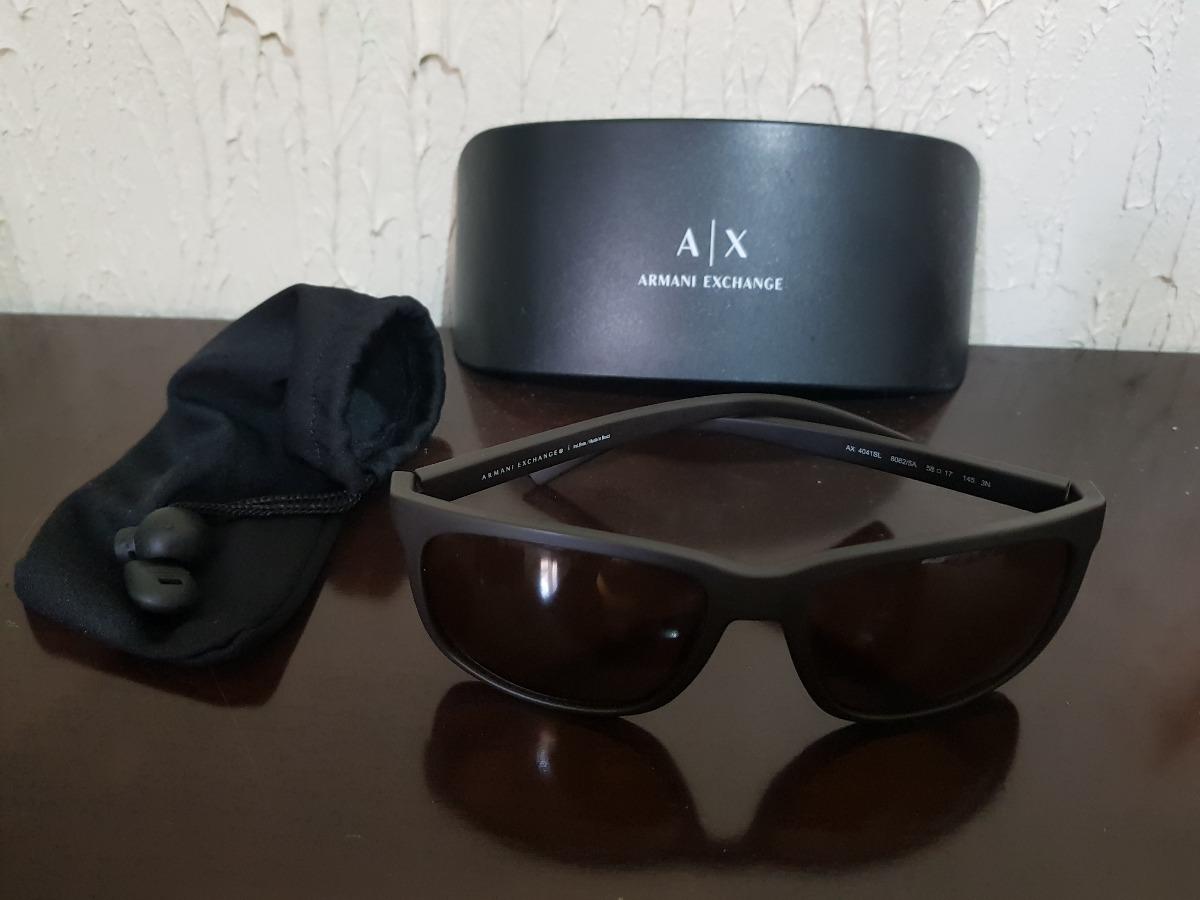 a5e6974f4c626 oculos de sol - armani exchange - marron - masculino. Carregando zoom.