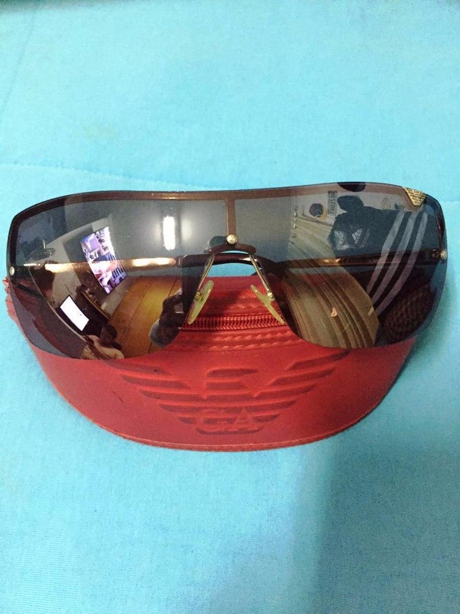 ece7be6732115 óculos de sol armani original tipo mascara. Carregando zoom.