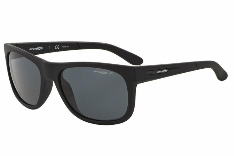 155de8c3a Óculos De Sol Arnette Masculino Preto Polarizado - An4206 - R$ 295 ...