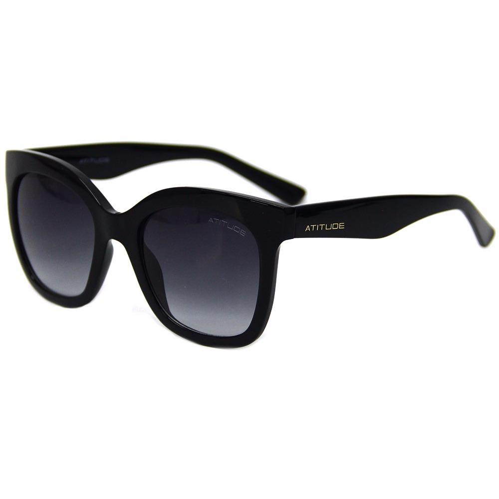 4f5caa397614c Óculos De Sol Atitude 5307 Feminino - R  189,00 em Mercado Livre