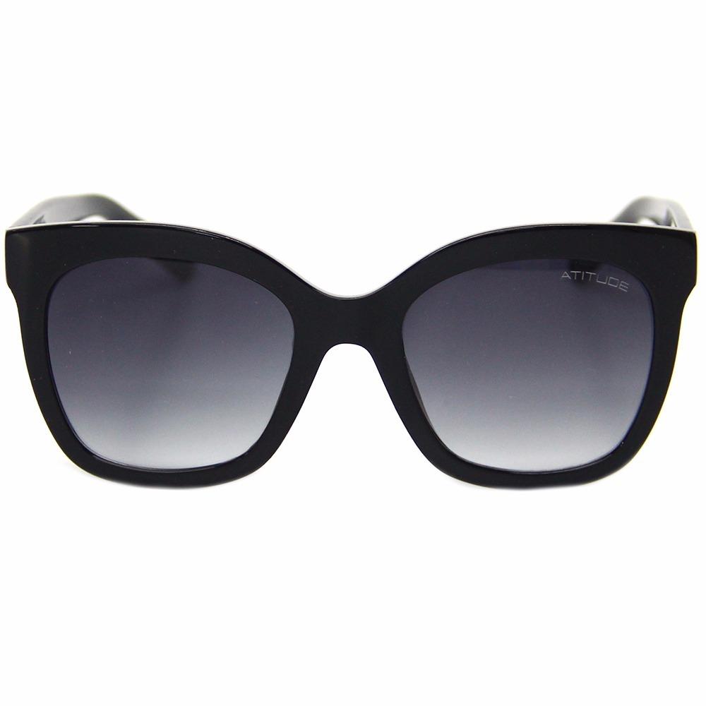 441224466 Óculos De Sol Atitude 5307 Feminino Grande - R$ 176,70 em Mercado Livre