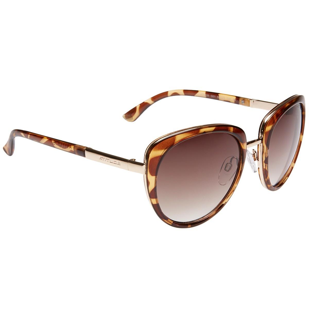 81ad1524d Óculos De Sol Atitude At 5228 G01 (original) Escuro - R$ 129,99 em ...