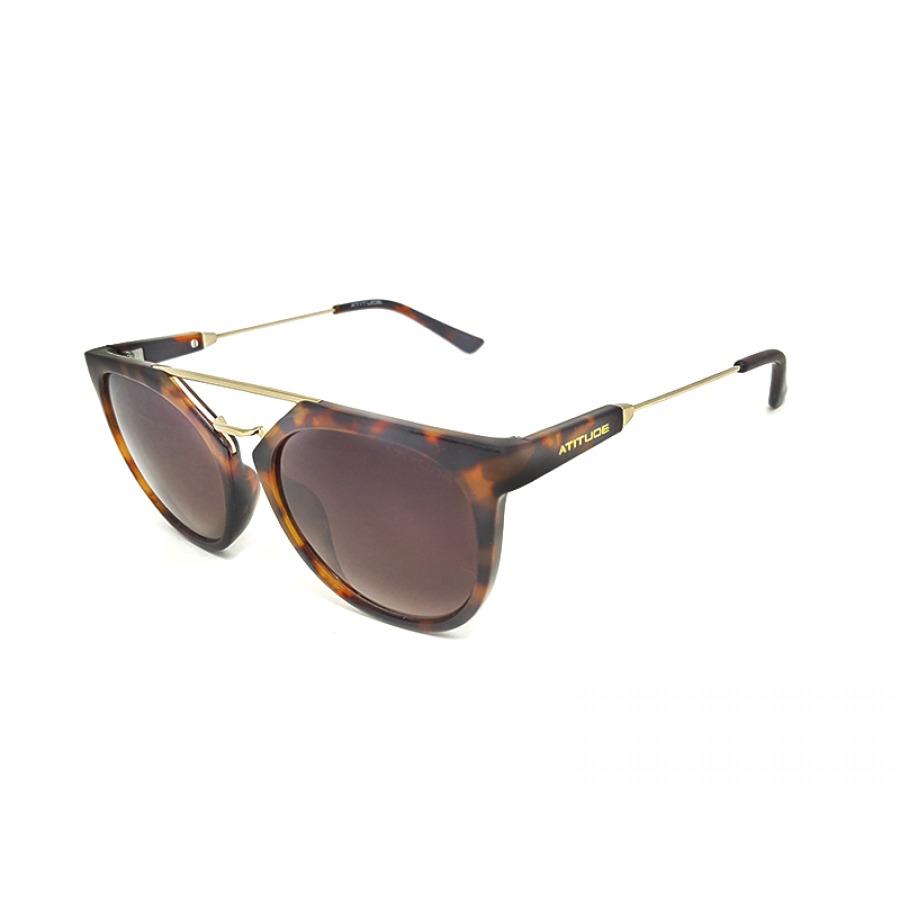 Óculos De Sol Atitude At5294 G21 - R  179,00 em Mercado Livre 4da29ebd50