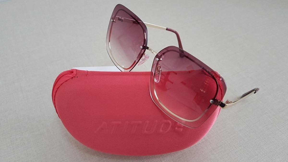 óculos de sol atitude estilo retro at 3223 coleção 2019. Carregando zoom. 9908a7b97d