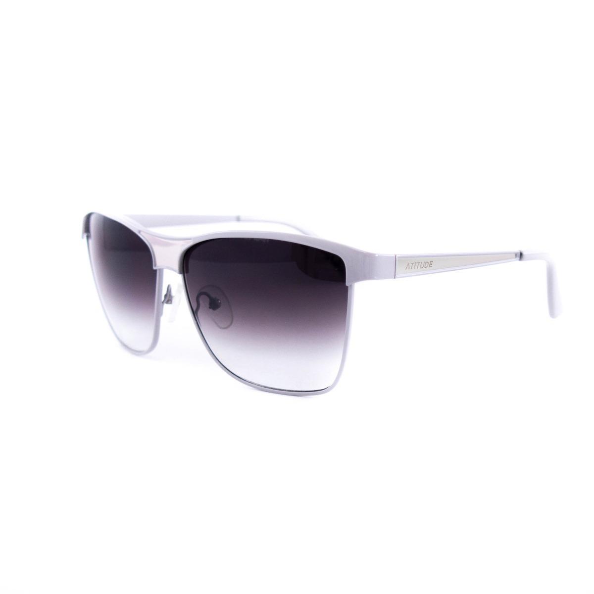 e9025c91e3a40 Óculos De Sol Atitude Feminino At3044 T03 - R  171,20 em Mercado Livre