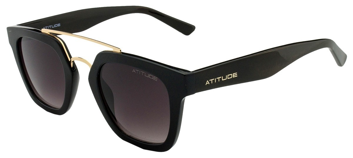75fad95ce Óculos De Sol Atitude Feminino At5315 A01 - R$ 217,10 em Mercado Livre