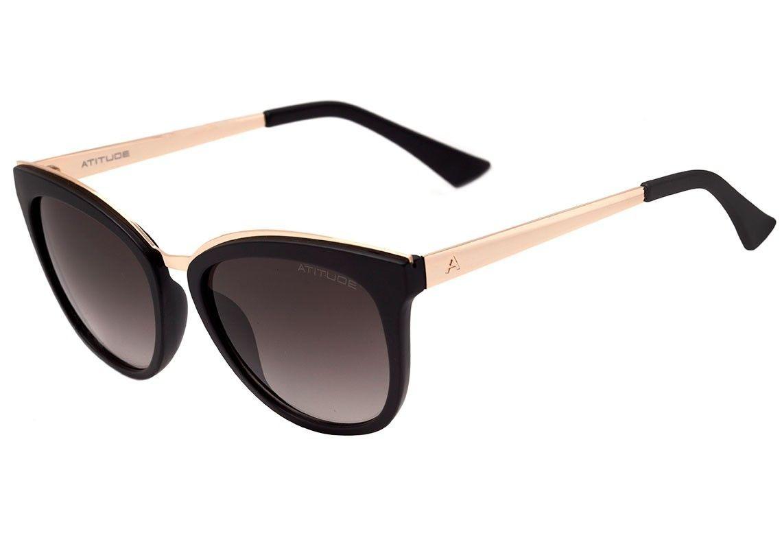 fb3a923fd Óculos De Sol Atitude Feminino At5354 A02 - R$ 220,50 em Mercado Livre