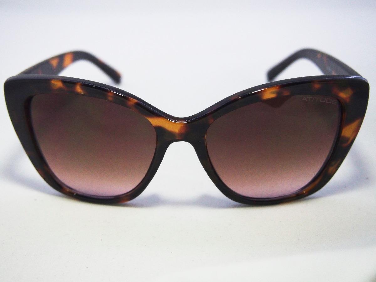e080d239a Óculos De Sol Atitude Feminino At5391 Original Nfe - R$ 170,00 em ...