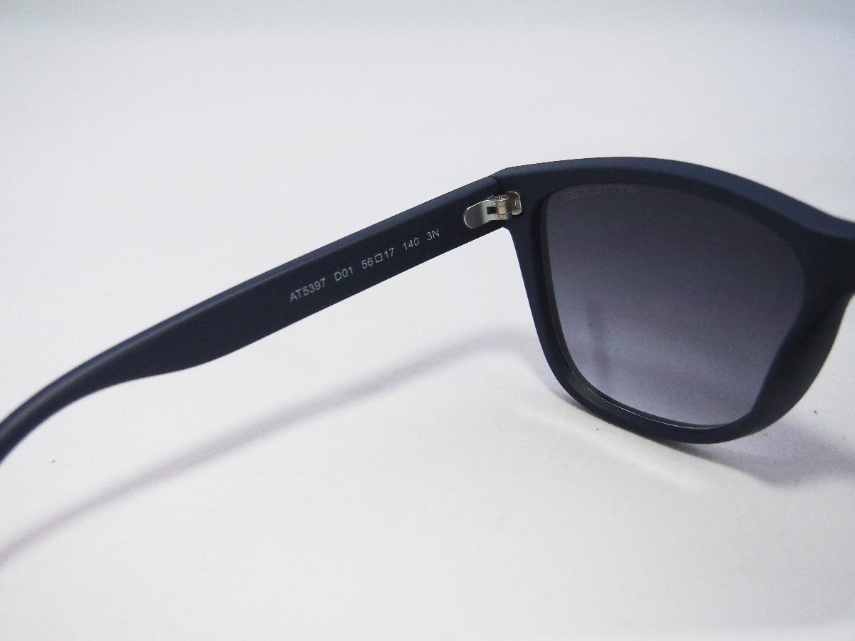 óculos de sol atitude masculino at5397 azul marinho grande. Carregando zoom. d0453392ca