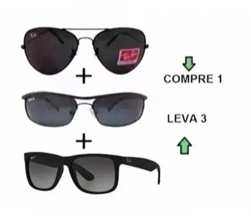 79cec6631 Oculos De Sol Avdr Estiloso + Modelos Kit 3 Produtos - R$ 120,00 em ...