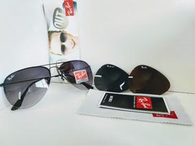 aeb9e6dda Oculos Ray Ban Aviador Policarbonato - Óculos no Mercado Livre Brasil