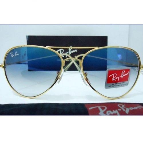 7bf4eb92c2d03 Oculos De Sol Aviador Azul Espelhado Masculino Feminino - R  299,68 ...