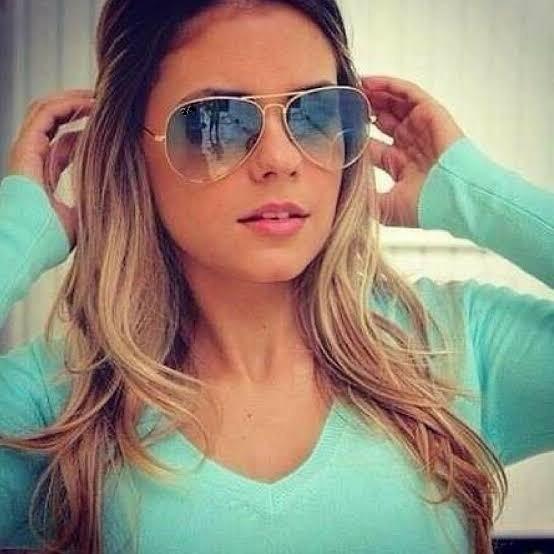 Óculos De Sol Aviador Degrade Feminino Masculino Barato Azul - R  39 ... da57c4a4a3