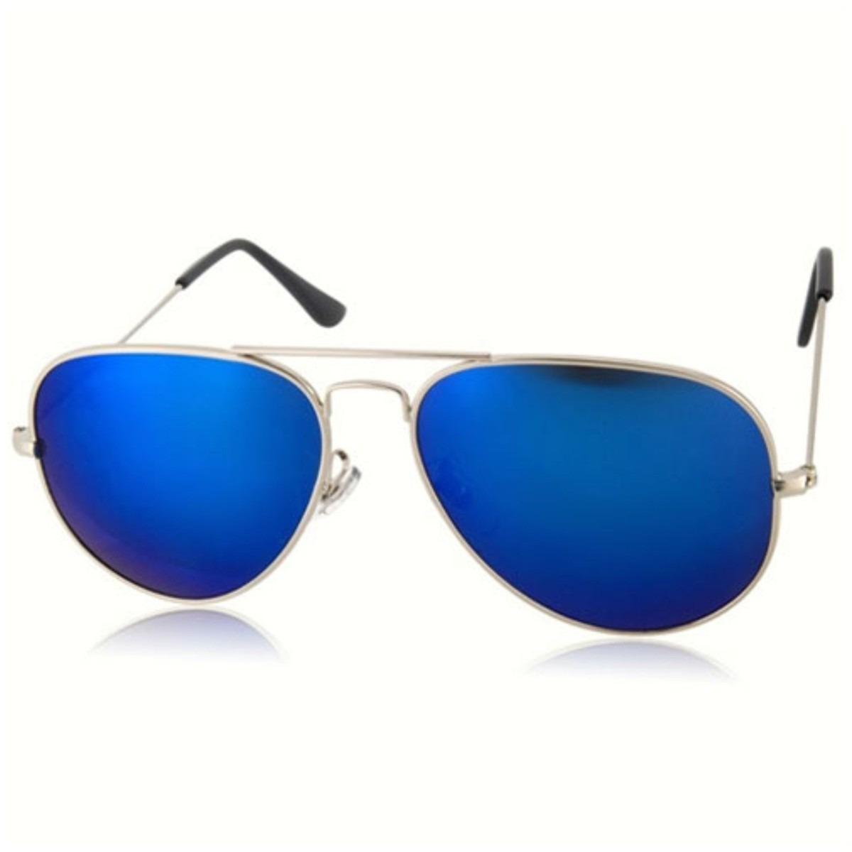 óculos de sol aviador espelhado lindo unisex top qualidade. Carregando zoom. dffd46d39c