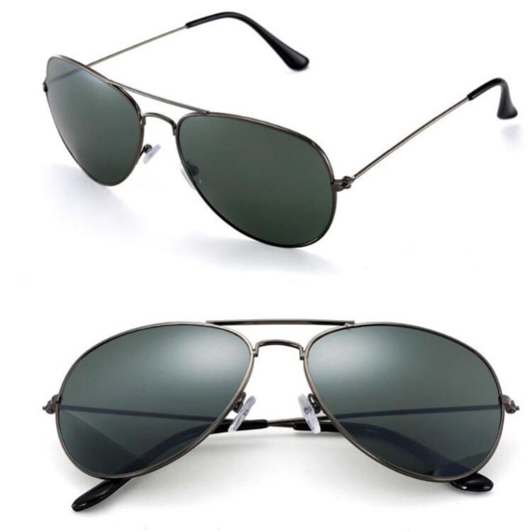 oculos de sol aviador feminino masculino case barato preto. Carregando zoom. 4b4e2107cb