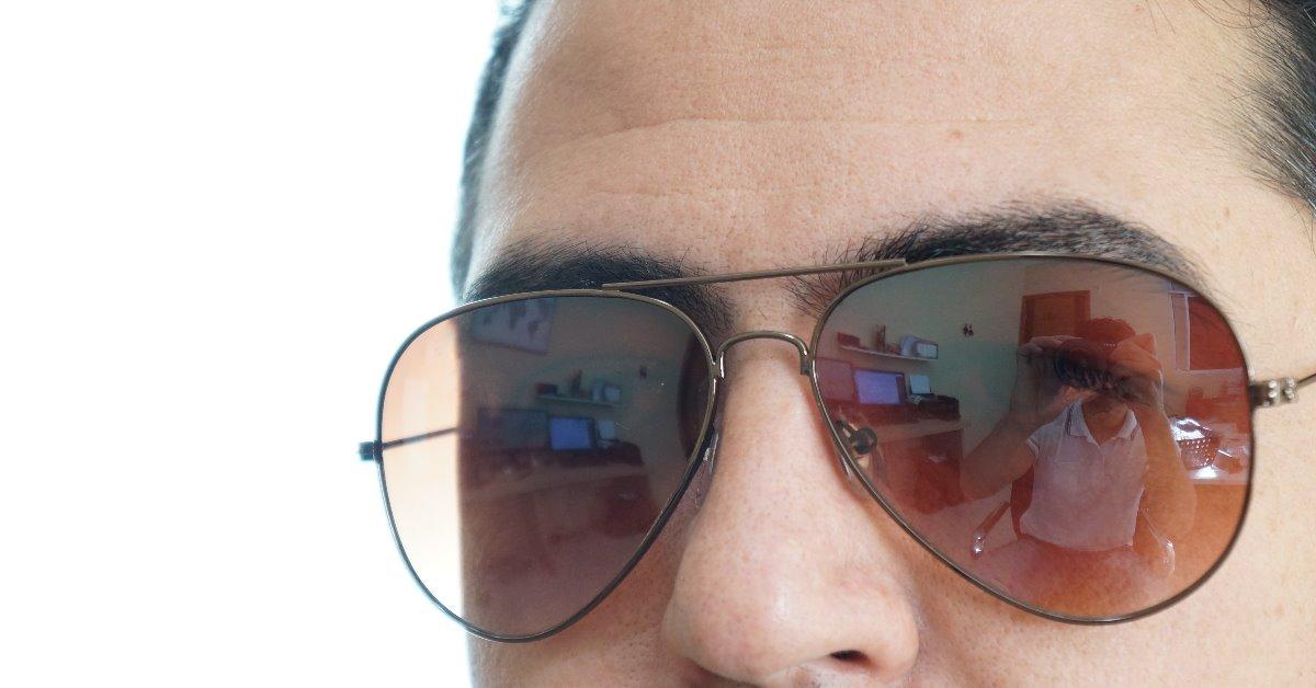 075a02e1a0789 Oculos De Sol Aviador Feminino Masculino Marrom Degrade25 26 - R  45 ...