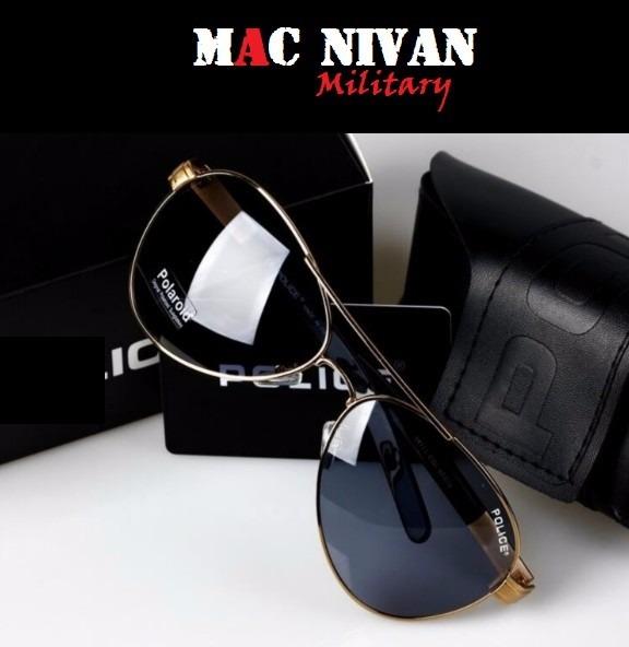 Óculos De Sol Aviador Masculino Polarizado Com 100% Uva-uvb - R  156 ... 9831853b19