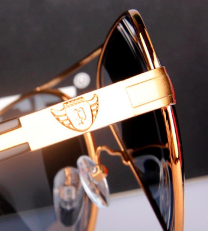 14348708dc80e Óculos De Sol Aviador Masculino Polarizado Com 100% Uva-uvb - R  159 ...
