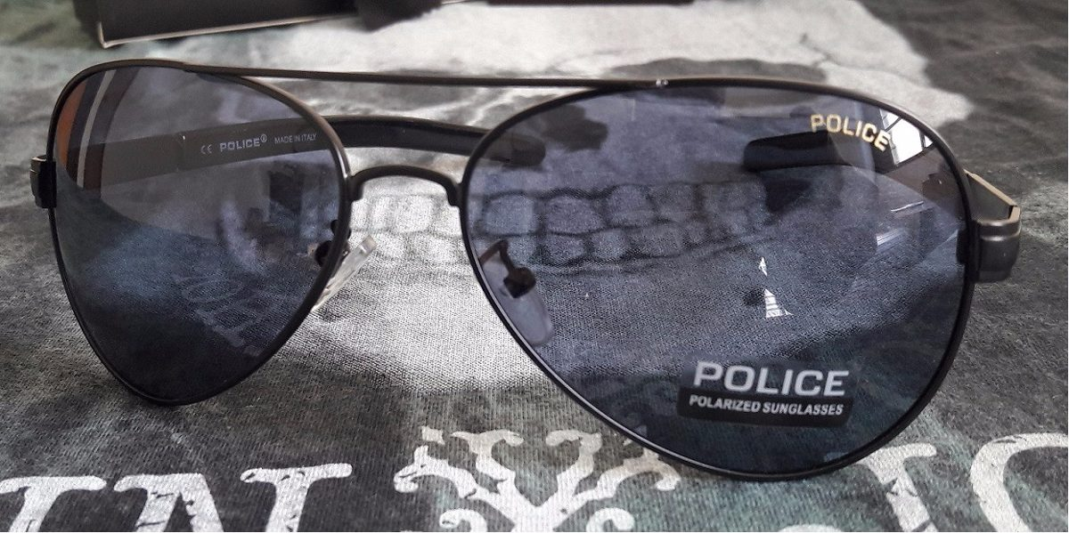 93d333eb27e03 óculos de sol aviador masculino polarizado police 100%uvauvb. Carregando  zoom.