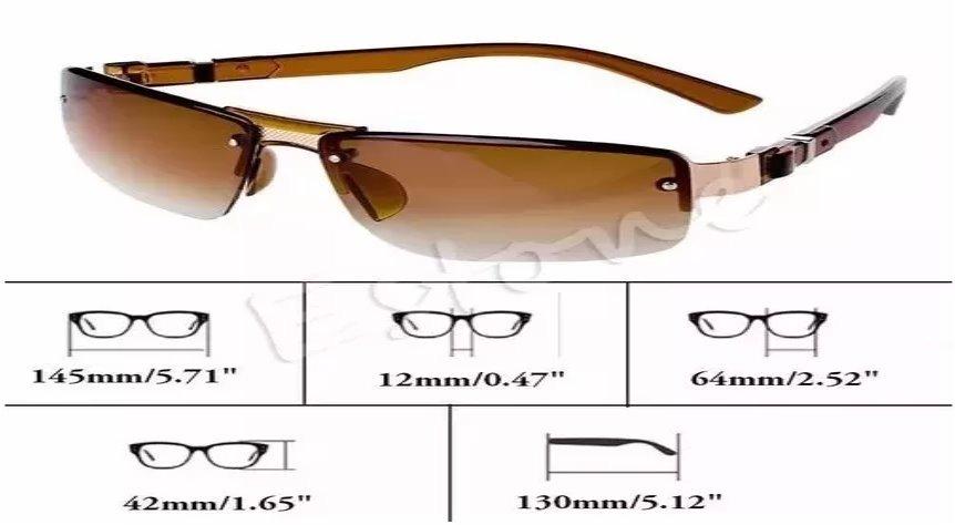 óculos de sol aviador masculino tradicional proteção uv400. Carregando zoom. e693d0af93