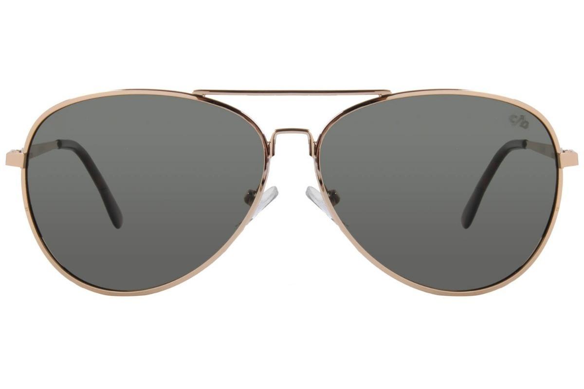 4a42ac552618d Carregando zoom... óculos de sol aviador modelo ocmt 1915 chilli beans .original