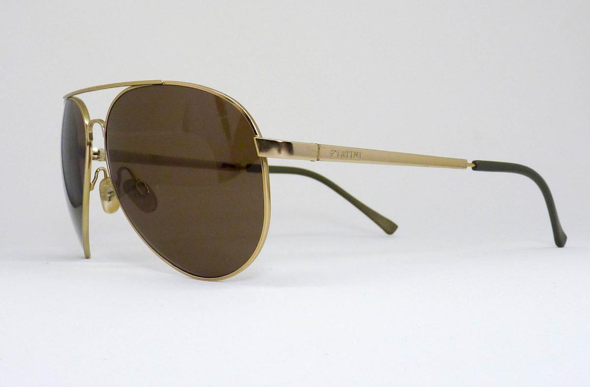 Óculos De Sol Aviador Platini - R  349,00 em Mercado Livre 59aaaeb9dd