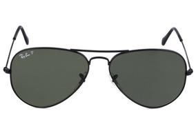 e861c0f23 Oculos Rayban Aviator Masculino Azul Polarizado - Óculos no Mercado ...