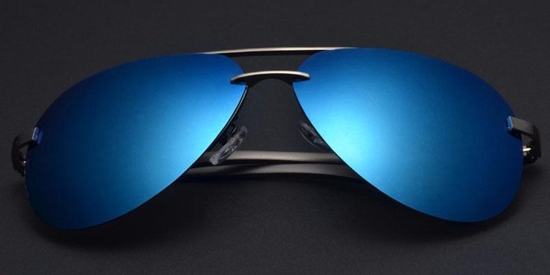 f2f0a944ffc56 óculos de sol aviador polarizado prote uv400 desing italiano. Carregando  zoom.