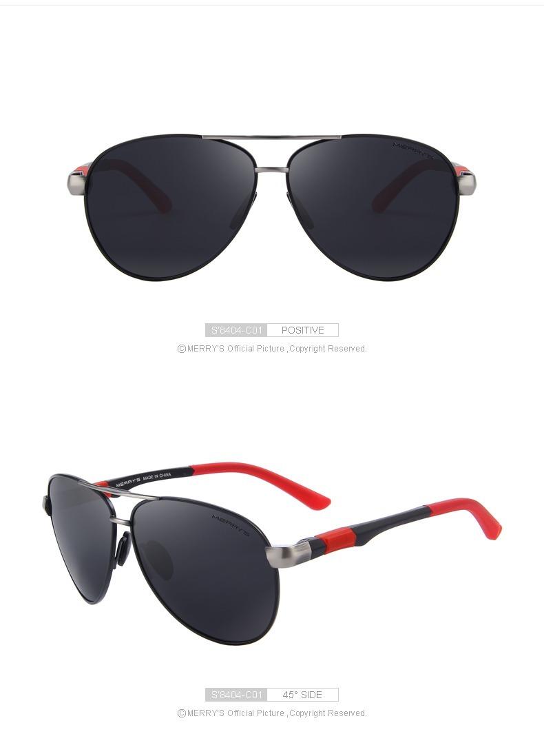 a007c73ed61ed Óculos De Sol Aviador Polarizado Uv400 Merrys Original - R  73,00 em ...