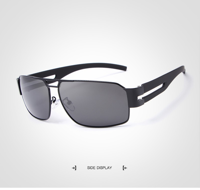 óculos de sol aviador polarizado uv400 original hdcrafter. Carregando zoom. 9e6f77d80c