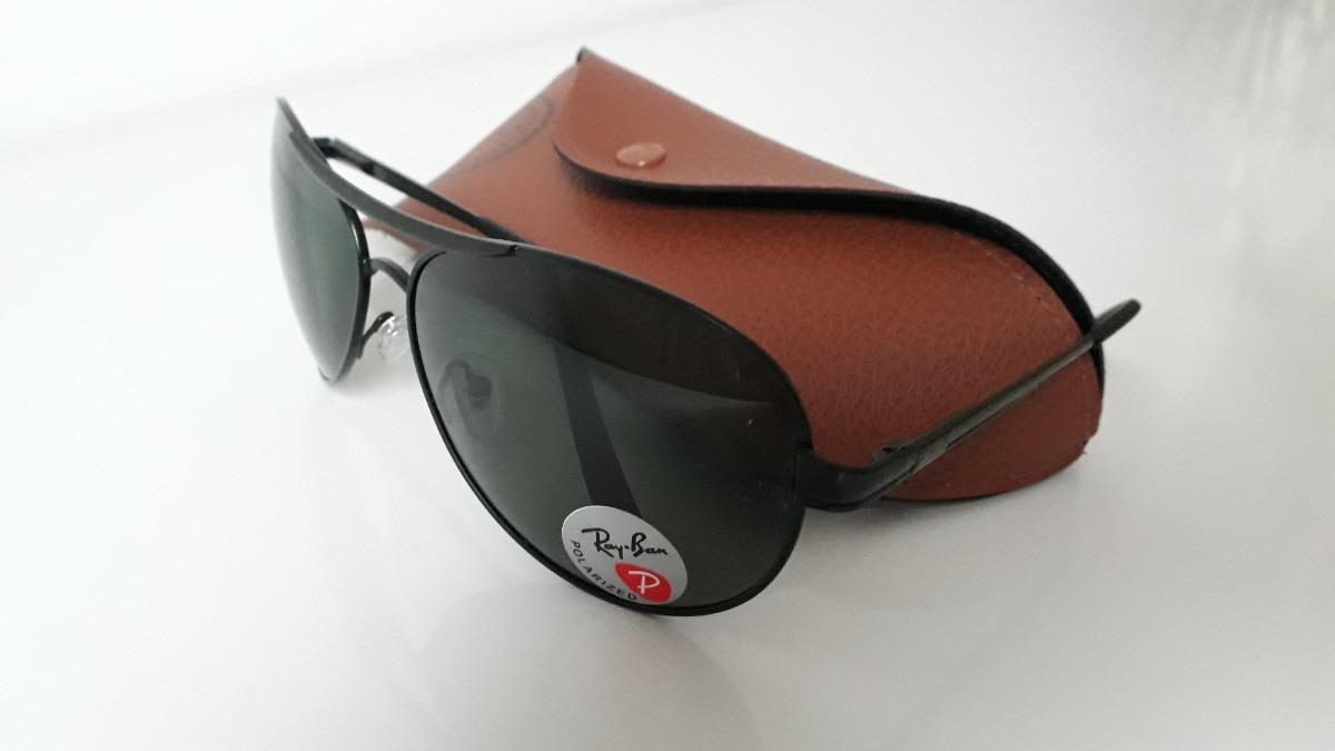 Óculos De Sol Aviador Ray Ban Preto Masculino - R  66,80 em Mercado ... 4225406398