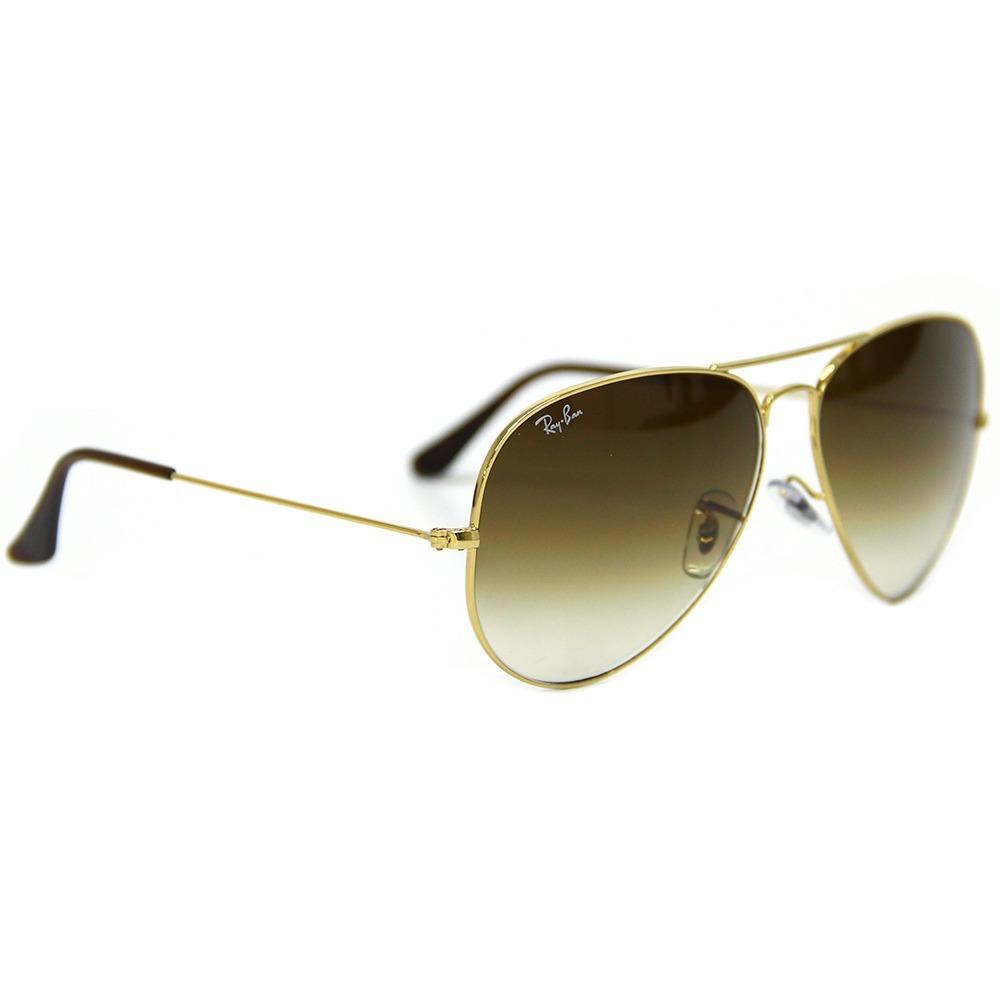 Óculos De Sol Aviador Ray Ban Rb3025 - Médio - R  479,00 em Mercado ... 08d9c95ab8