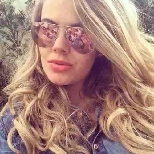 Oculos De Sol Aviador Rb3025 Rosa Feminino Espelhado Rayban - R  219 ... cc67277a71