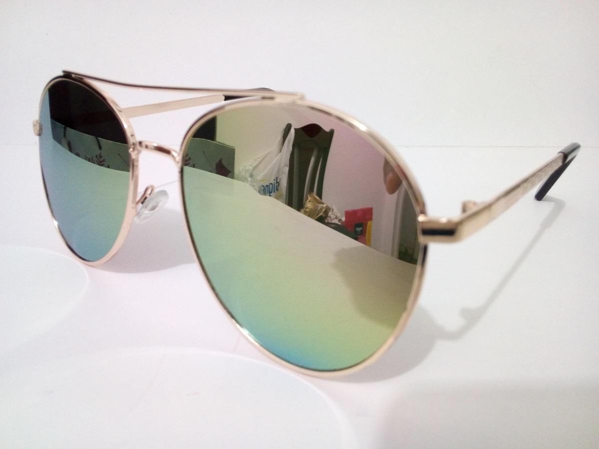 d1de2243091ec Óculos De Sol Aviador Redondo Feminino Tam G - R  60,00 em Mercado Livre