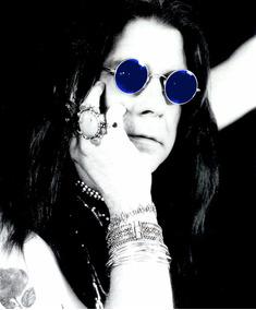 108dcceae Oculos Ozzy Osbourne De Sol Outras Marcas - Óculos no Mercado Livre ...