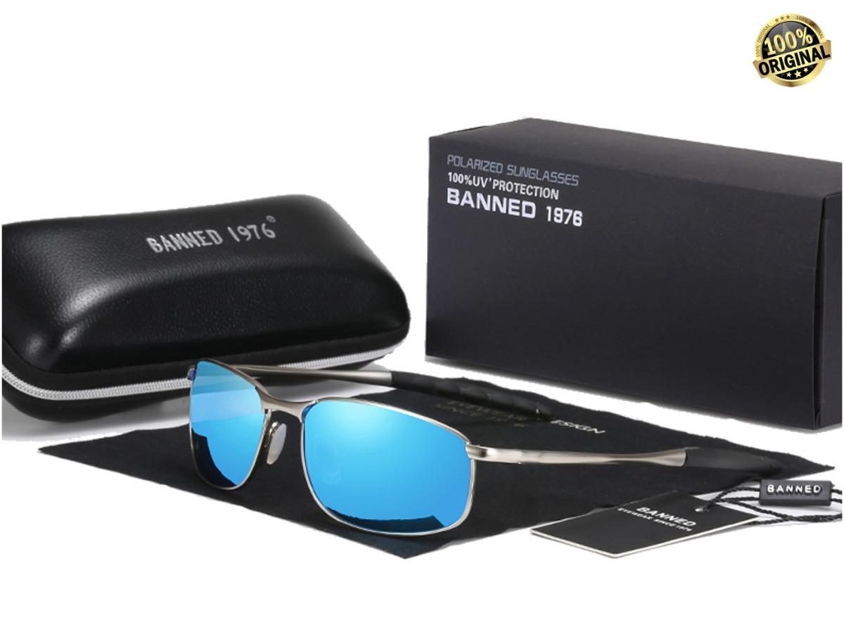 5b054183d óculos de sol banned estilo juliet lente polarizada uv400. Carregando zoom.