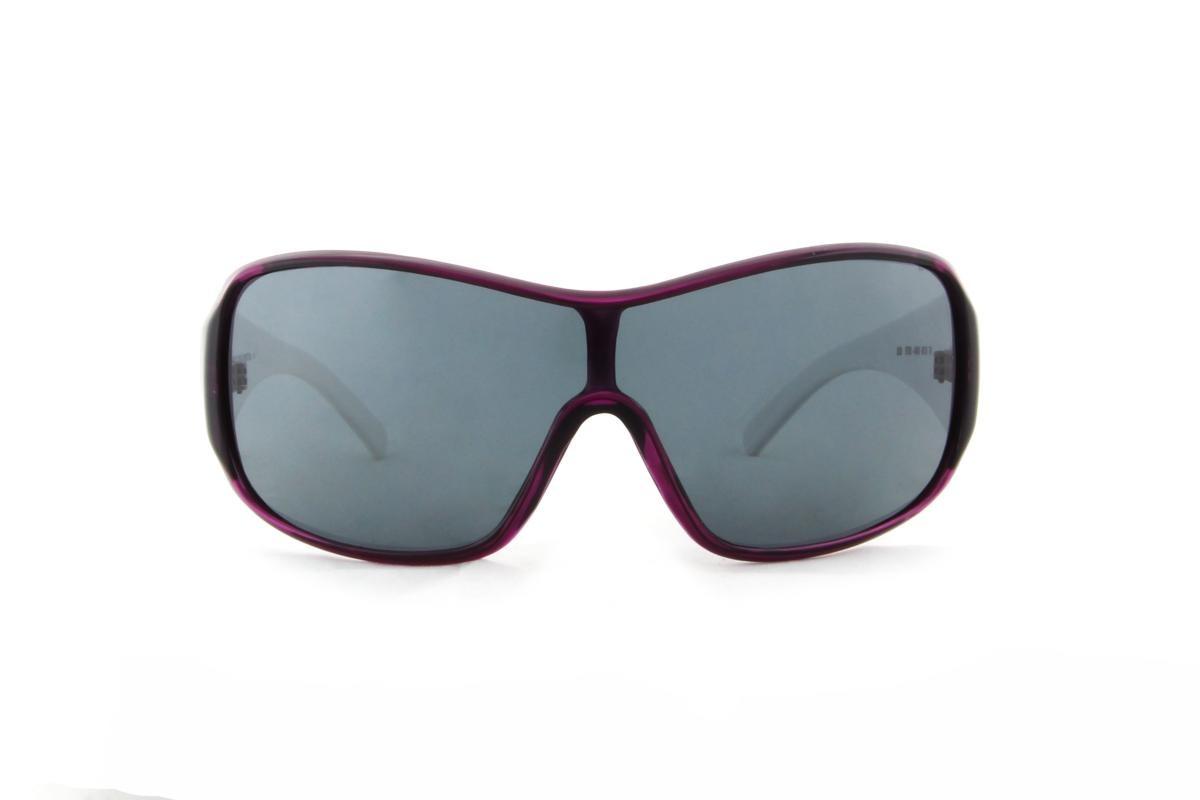 d18d4449c8e98 óculos de sol benetton acetato roxo e branco lente preta. Carregando zoom.