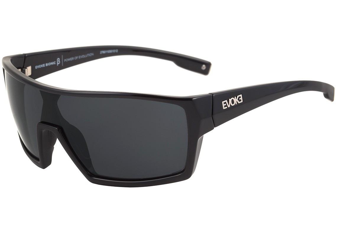 86a6c1831 Óculos De Sol Bionic Beta Black Shine Gray Original - R$ 469,90 em ...