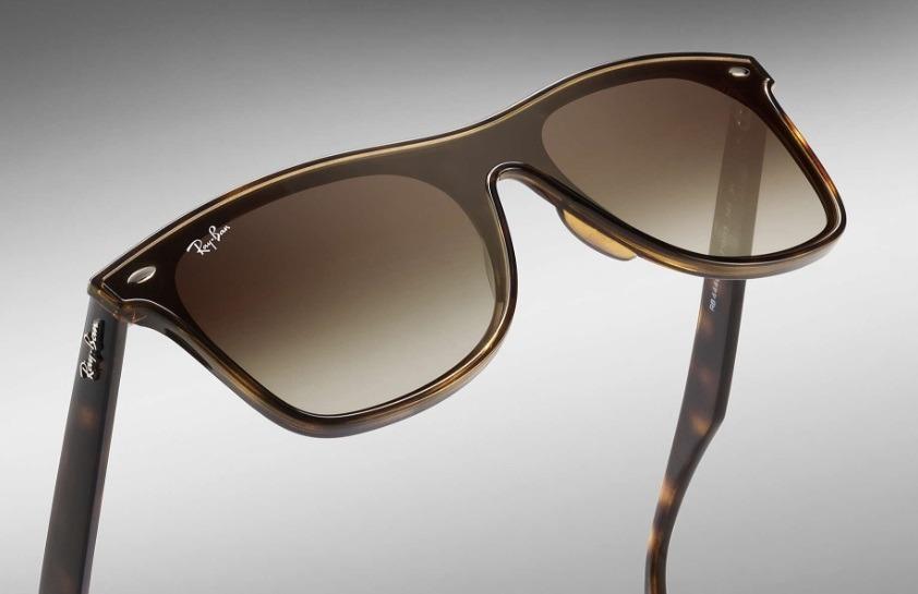 4a106a971 óculos de sol blaze wayfarer ray ban rb4440 marrom- original. Carregando  zoom.
