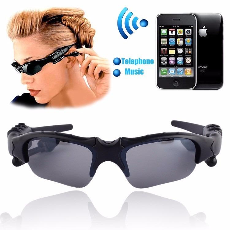 Óculos De Sol Bluetooth Mp3 Player Fone De Ouvido - R  94,00 em Mercado  Livre 2235edf5c9