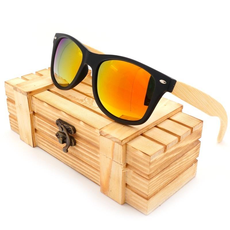 c1579398aa8a7 Óculos De Sol Bobo Bird Em Madeira Bambu + Brinde! - R  89,90 em ...